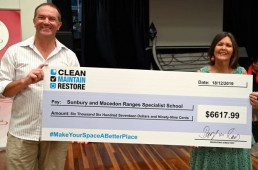 Donation to Sunbury and Macedon Ranges Specialist School - December 2019